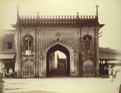 A Gate in City, [Rampur]